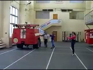 Treinamento de bombeiros
