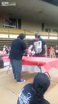 Disputa do tapa mais forte