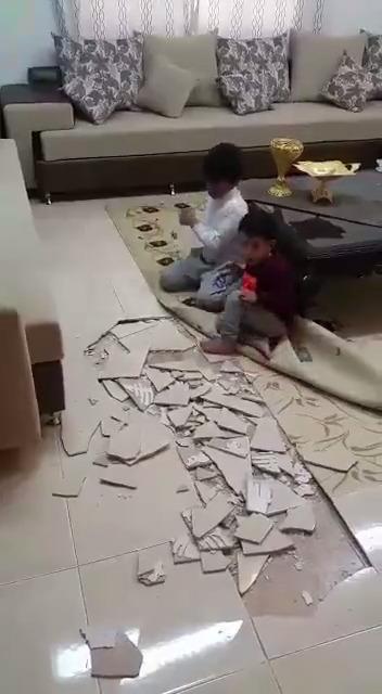 O que tem debaixo do piso?