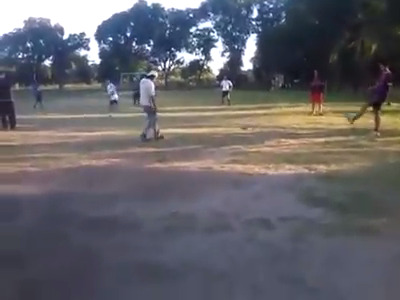 Cachaça bruta no futebol