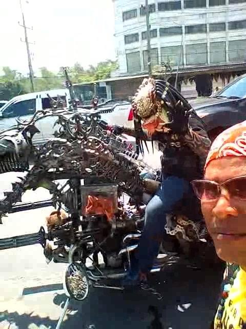 Moto monstra