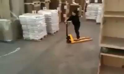 O supervisor saiu