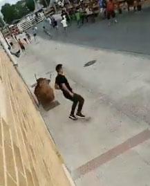 Escapando do touro