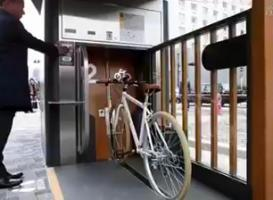 Estacionamento de bike no Japão